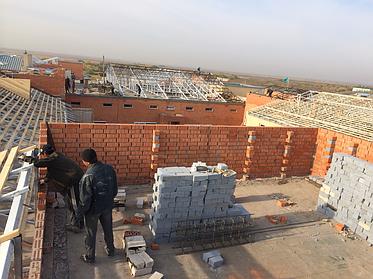 Капитальный ремонт кровли КГУ МСУ дома престарелых в г Астана 3