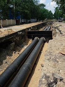 Прокладка магистральных трубопроводов тепловых сетей в городе Астана ж.к Гранд Астана  1