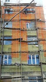Ремонт и усиление аварийных фасадов  ул Ташенова 12/1 1