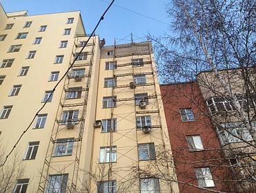 Ремонт и усиление аварийных фасадов - ул Кудайберды 24/1 1