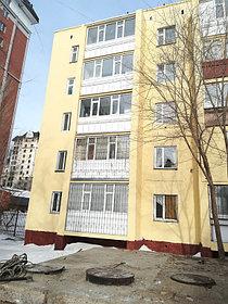 Демонтаж и монтаж аварийных балконов, ремонт фасада, ремонт кровли на доме по адресу пр Республики 7/1. 3