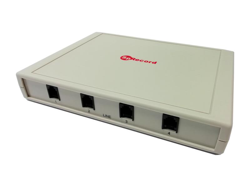 SpRecord MT4 cистема записи (регистрации) телефонных разговоров для аналоговых линий