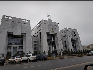 Здания суда г. Нур-Султан 1