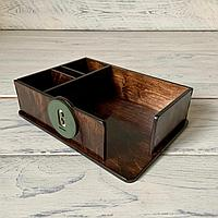 Менажница для столовых приборов, салфеток, специй и зубочисток. Органайзер.