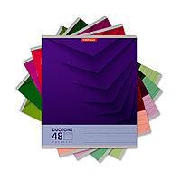 Тетрадь общая ученическая ErichKrause Duotone Next (48 листов, линейка)