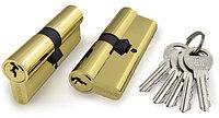 Цилиндровый механизм DAF 706 60 mm(25+10+25) SG золото 5 кл.