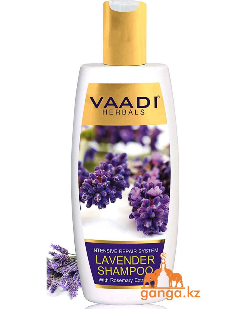 Шампунь с лавандой и экстрактом розмарина (Lavender shampoo with rosemary shampoo VAADI Herbals), 350 мл