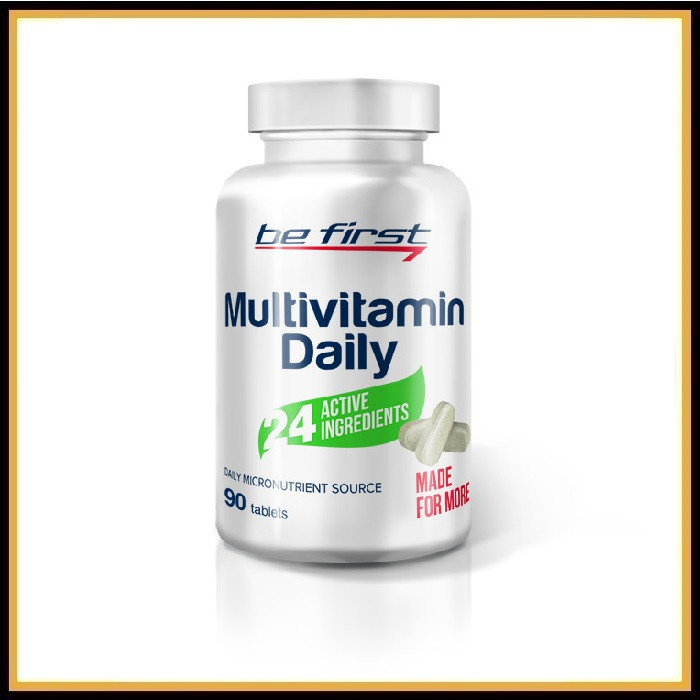 Be First Multivitamin Daily (90таблеток)