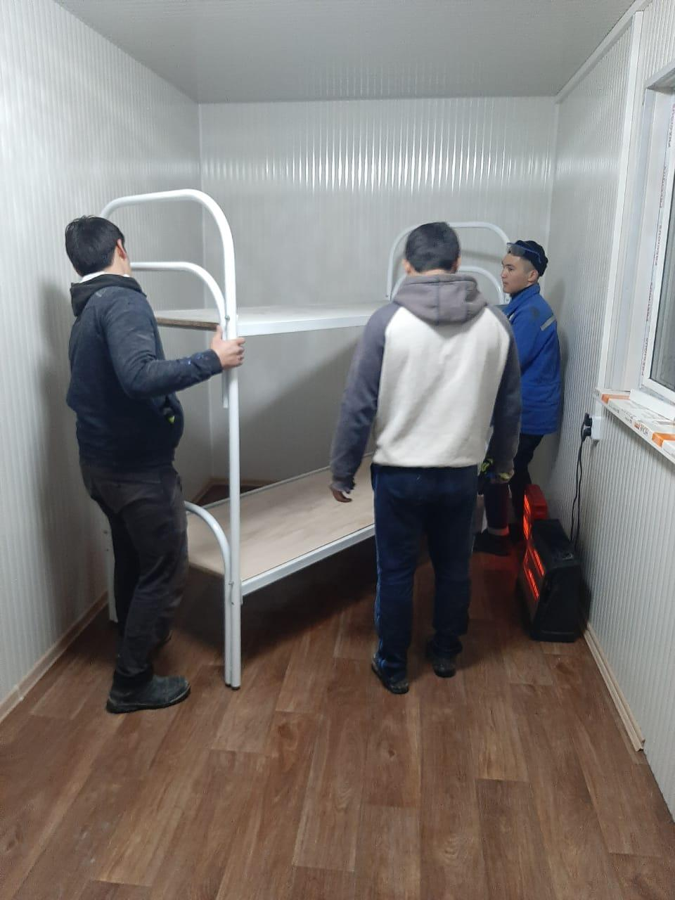 Кровать металлическая усиленные