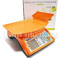 Торговые электронные весы Senym двойной дисплей до 35 кг