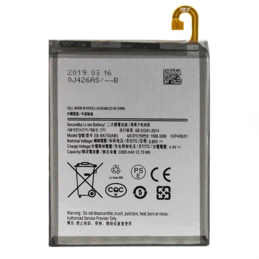 Заводской аккумулятор для Samsung Galaxy A10 SM-A105F 2019 (EB-BA105ABU, 3400mah)