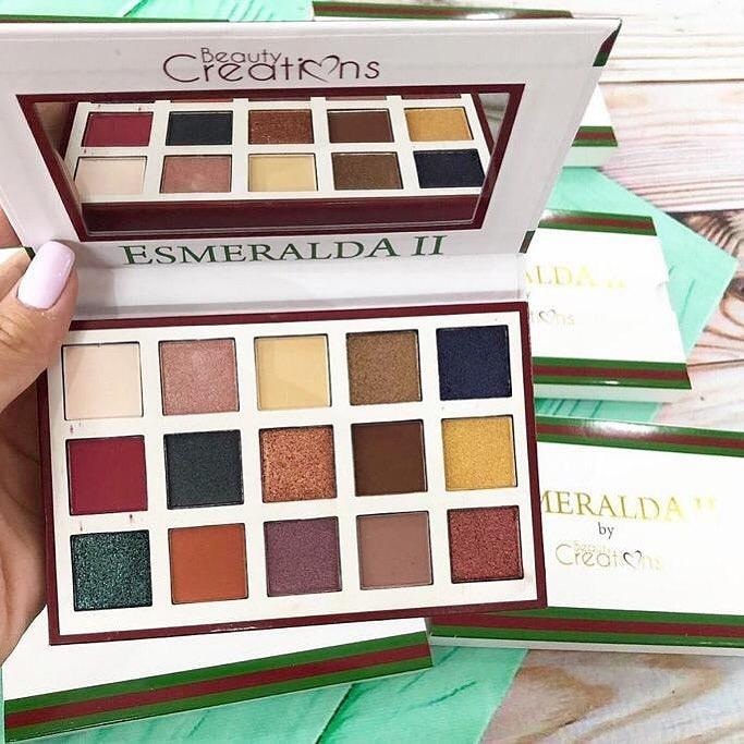 Esmeralda by Beauty Creations Тени 15 цветов