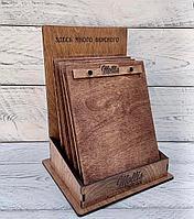Деревянный планшет для меню, кафе и ресторанов. Клипборд. Планшет из дерева.