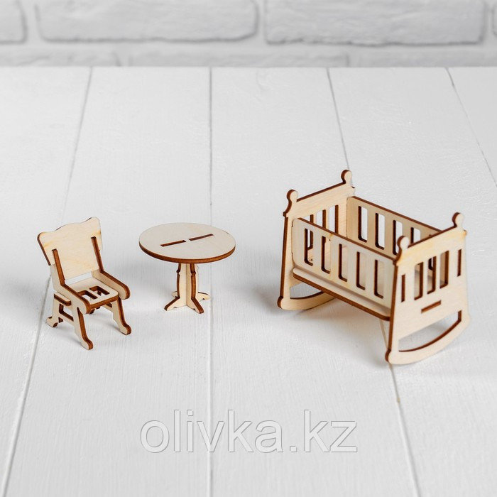 Конструктор «Детская» набор мебели - фото 2