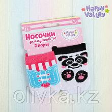 Носочки для пупсов «Панда», набор 2 пары