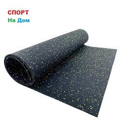 Резиновый коврик для беговой дорожки (габариты: 250 х 122 х 0,4 см)
