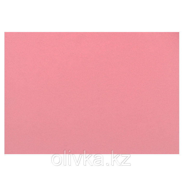 Картон цветной, 420 х 297 мм, Sadipal Sirio, 1 лист, 170 г/м2, розовый