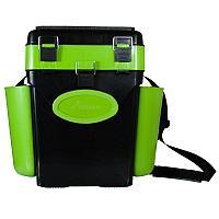 """Ящик зимний """"FishBox"""" 10л Helios зеленый 156316"""