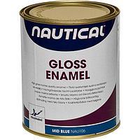 Эмаль глянцевая, синяя, 0,75 л NAU106_750ML