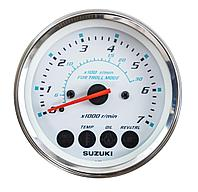 "Тахометр 4"", 7000 об/мин, Suzuki DF40A-200A, белый 3420093J53000"