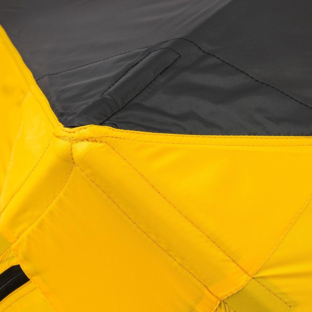 Палатка зимняя КУБ EXTREME 1,5х1,5 v2.0 (широкий вход) Helios 171395 - фото 8