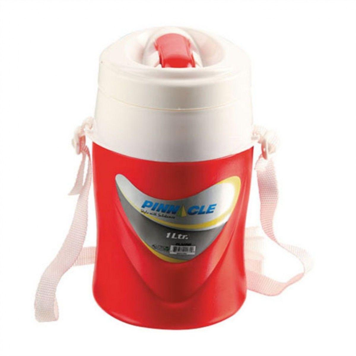 Изотерм. контейнер для жидкости platino 1л красный tpx-2072-1-r pinnacle tr-212768 - фото 1