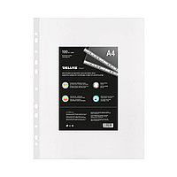 Файл-вкладыш пластиковый Deluxe Clear A4100M (A4, Прозрачный), фото 1