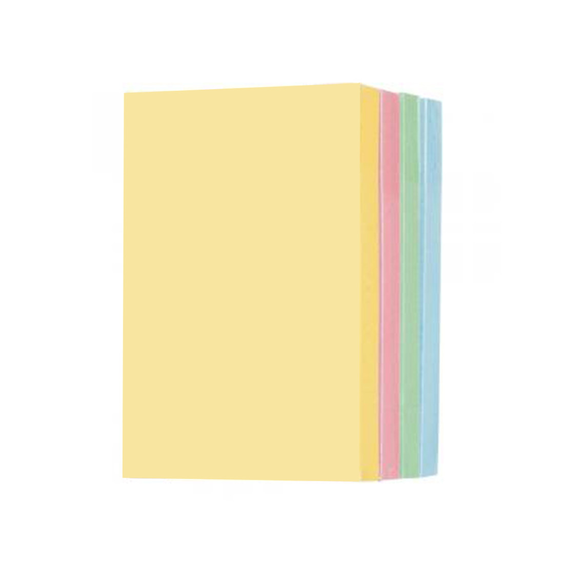 Стикеры бумажные самоклеющиеся Comix (76х125 мм)