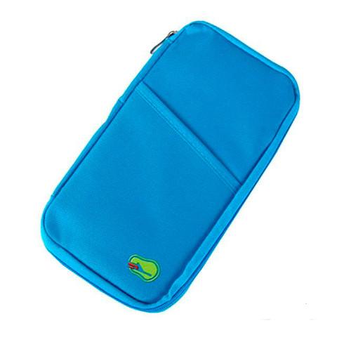 Органайзер путешествинника для документов и смартфона (Голубой)