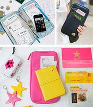 Органайзер путешествинника для документов и смартфона (Голубой), фото 2