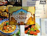 Меню для ресторанов,  меню в Алматы, дизайн, фото 2