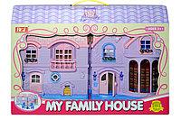 80613 Домик с мебелью My Family House 49*32см