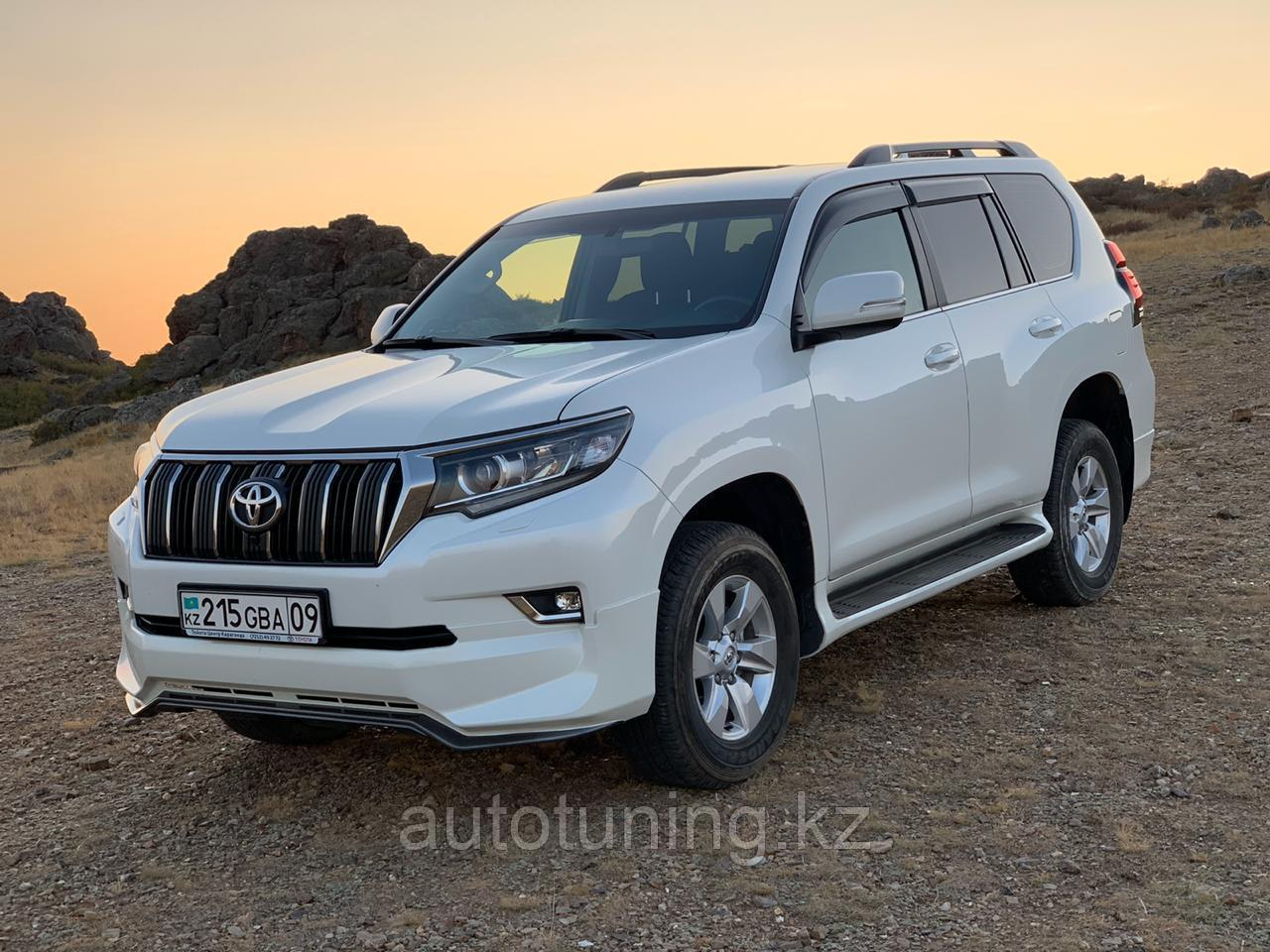Аэродинамической обвес URBAN sport (Aero sport package) Land Cruiser Prado 150 2018 +