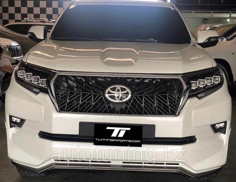 Решетка радиатора TRD design Superior Land Cruiser Prado 2018+