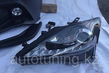 Альтернативная оптика (передние тюнинг фары) на Lexus IS250/300/350 2006-2013 г.