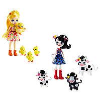 Игровой набор Enchantimals GJX43 Кукла с тремя зверушками в ассортименте