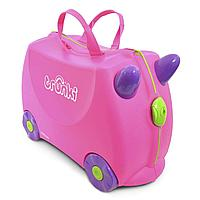 Trunki: Чемодан на колесиках Розовый, фото 1