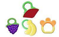 Грызунки - прорезыватели хваталки (фрукты)