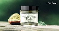I'm from Vitamin Tree Mask 110g смываемая маска, содержащая 47,7% натуральной облипиховой воды