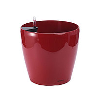 Кашпо для цветов с автополивом Leizisure HG-3101, 21,5/16,5x20 см, красный