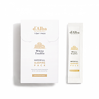 D`Alba Waterful Sleeping pack 4ml*12 направлена на интенсивное увлажнение кожи перед сном