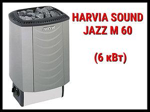 Электрическая печь Harvia Sound Jazz M 60 со встроенным пультом