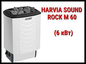 Электрическая печь Harvia Sound Rock M 60 со встроенным пультом