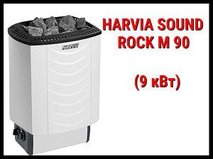Электрическая печь Harvia Sound Rock M 90 со встроенным пультом