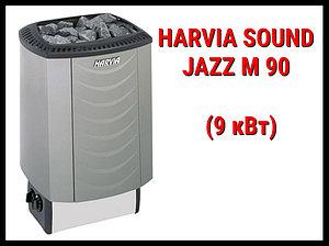 Электрическая печь Harvia Sound Jazz M 90 со встроенным пультом