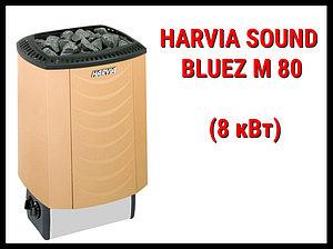 Электрическая печь Harvia Sound Bluez M 80 со встроенным пультом