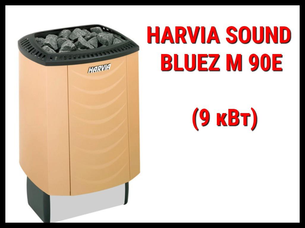 Электрическая печь Harvia Sound Bluez M 90E под выносной пульт управления