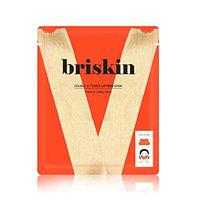 BRISKIN Double Lifting Mask Double V Power Lifting Mask успокаивающая маска с экстрактами кофеин и тыквы