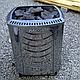 Электрическая печь Harvia Sound Rock M 80E под выносной пульт управления, фото 3