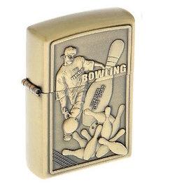 """Зажигалка """"Любителю боулинга"""", кремний, бензин, 6x8 см"""